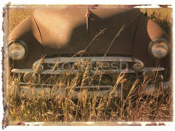 Kutuplayıcı transfer araba son eski Stok fotoğraf © iofoto