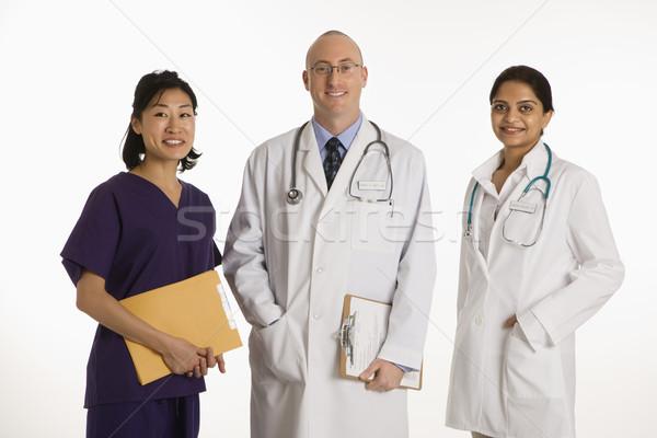 Man and women doctors. Stock photo © iofoto