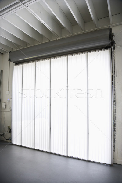 Big window and blinds. Stock photo © iofoto