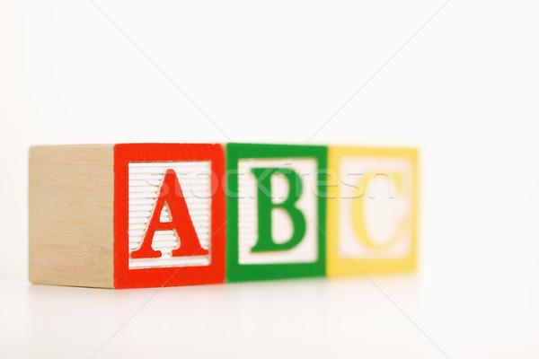 Building blocks. Stock photo © iofoto
