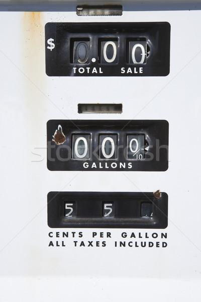 Old gas meter Stock photo © iofoto