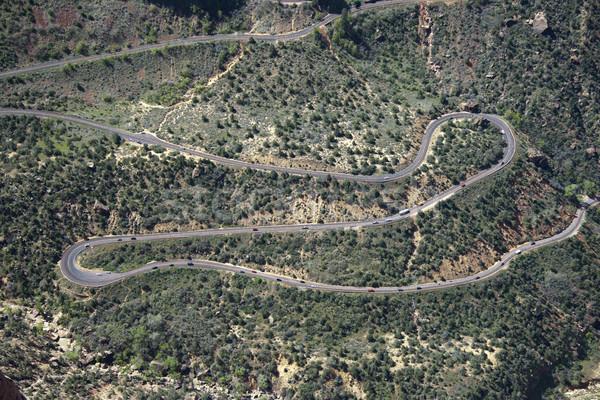 Winding road. Stock photo © iofoto