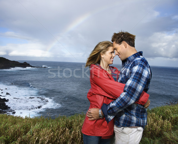 Couple hugging. Stock photo © iofoto