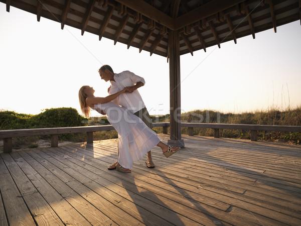 Couple dancing. Stock photo © iofoto