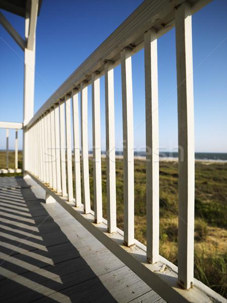 крыльцо пляж подробность лысые Сток-фото © iofoto