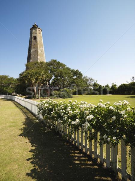 Bald Head Lighthouse. Stock photo © iofoto