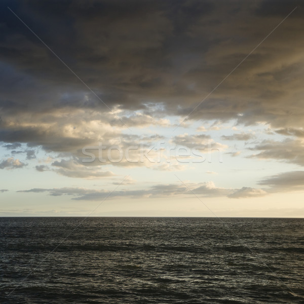 Pacific ocean and clouds. Stock photo © iofoto