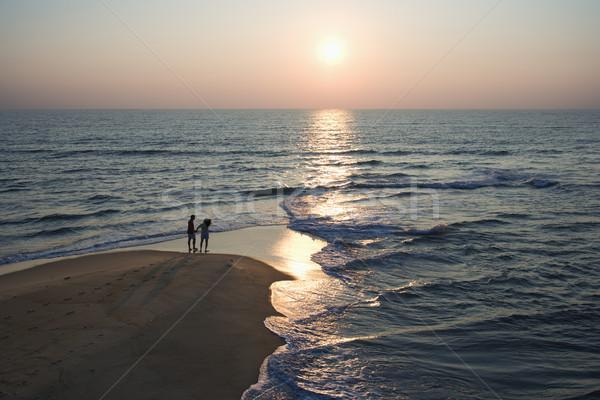 Couple on beach. Stock photo © iofoto