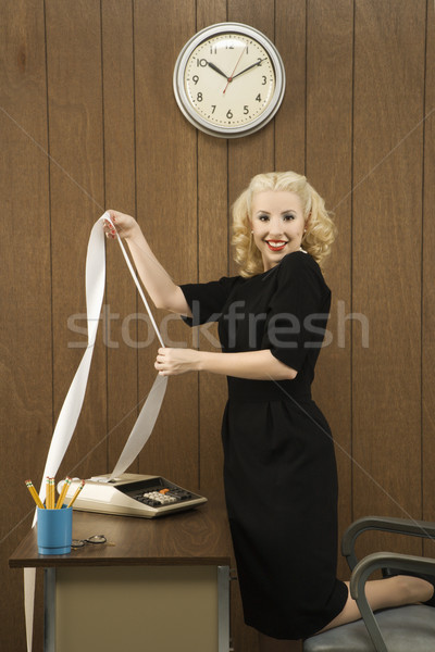 Woman office worker. Stock photo © iofoto