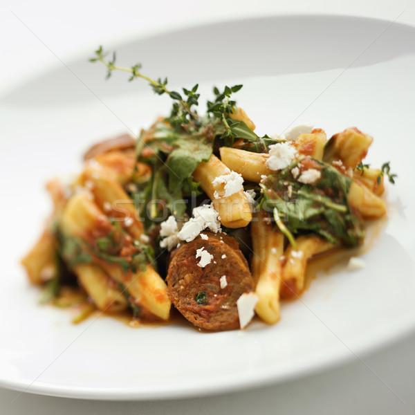 Stock fotó: Gurmé · étel · csendélet · tészta · profi · bemutató