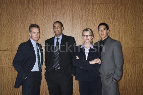 Businesspeople Standing Together Stock photo © iofoto