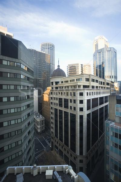 Sydney Austrália ver edifícios centro da cidade cidade Foto stock © iofoto