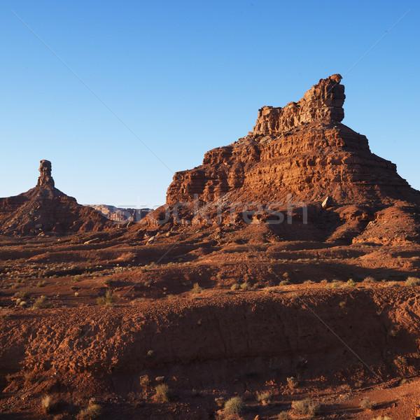 Desert rock formations, Utah. Stock photo © iofoto