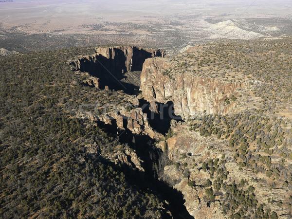 Arizona woestijn antenne landschap zuidwest natuur Stockfoto © iofoto