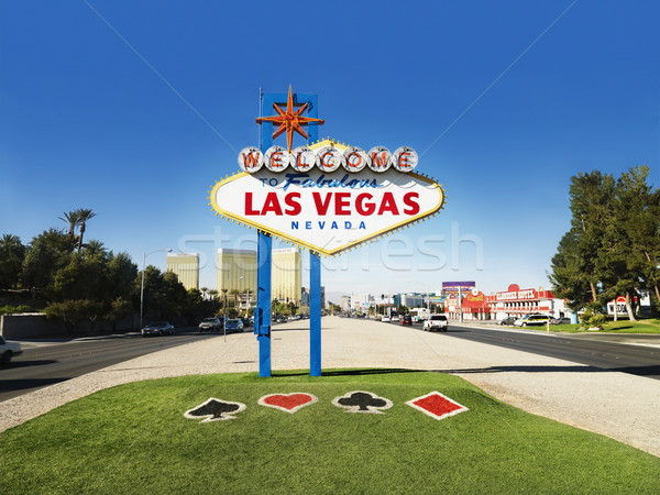 Las Vegas Welcome Sign Stock photo © iofoto