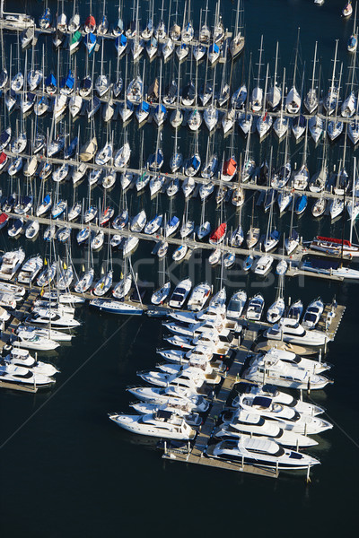 Boats at dock. Stock photo © iofoto