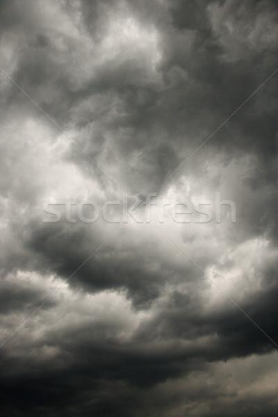 Dark storm clouds. Stock photo © iofoto
