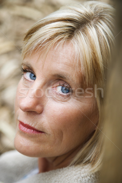Head shot of woman. Stock photo © iofoto