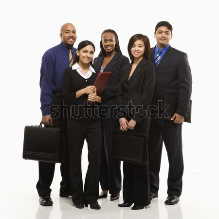 Stock photo: Business group portrait.