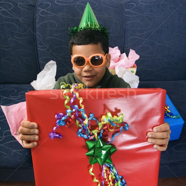 Boy birthday. Stock photo © iofoto