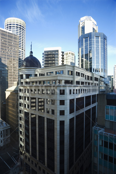 Centro de la ciudad Sydney Australia rascacielos viaje horizonte Foto stock © iofoto