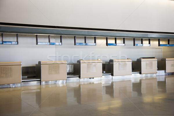 Airport check in. Stock photo © iofoto