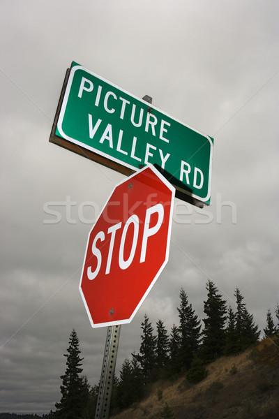 Road signs. Stock photo © iofoto