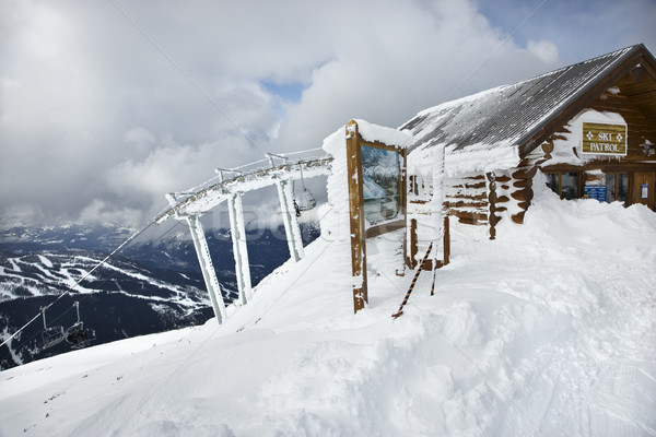 Ski patrol office  Stock photo © iofoto