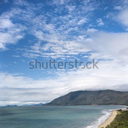 Queensland schilderachtig kust kust bergen Stockfoto © iofoto