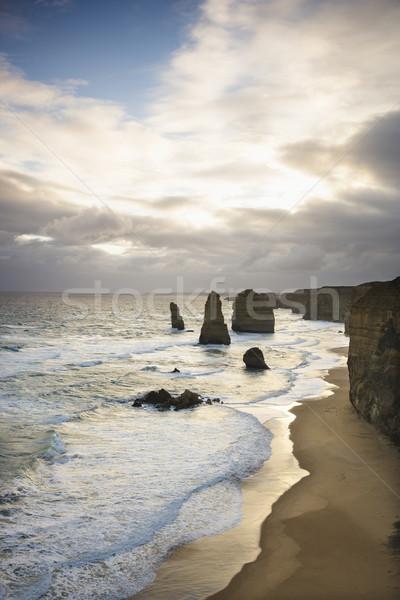 Land formation at coast. Stock photo © iofoto