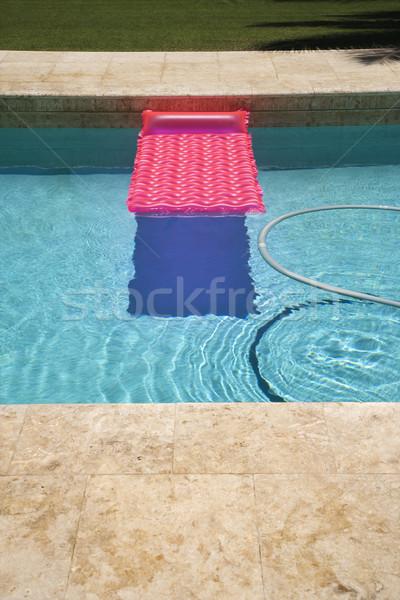 ピンク フロート プール 真空 スイミングプール 水 ストックフォト © iofoto