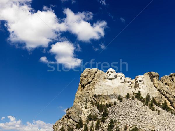 Mount Rushmore and sky. Stock photo © iofoto