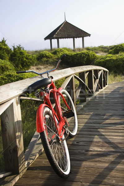 Bike at beach. Stock photo © iofoto