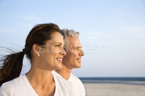 Couple on Beach Stock photo © iofoto
