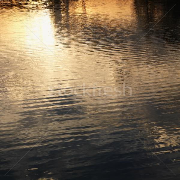 Sunset on water. Stock photo © iofoto