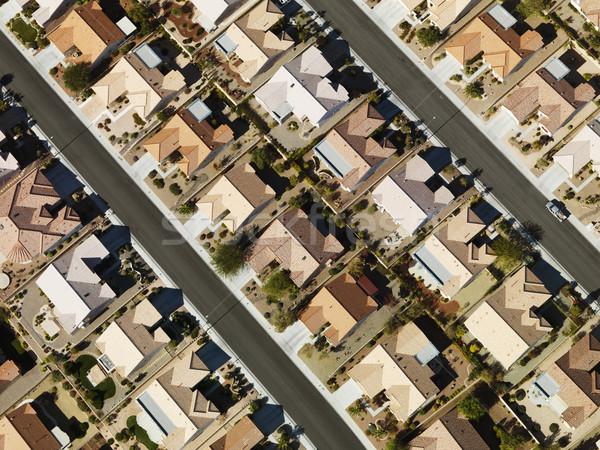 郊外の 住宅 都市 ストックフォト © iofoto