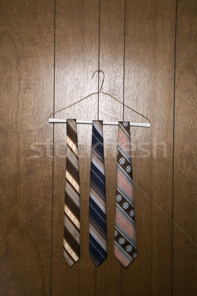 Three retro neckties. Stock photo © iofoto