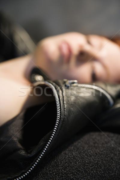 Portrait of woman. Stock photo © iofoto