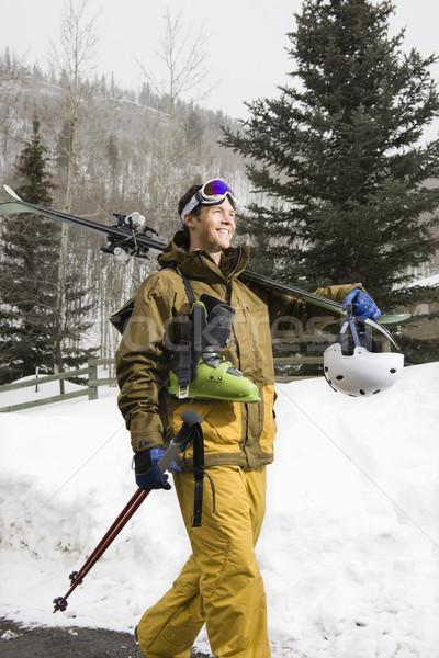 Man in ski gear. Stock photo © iofoto