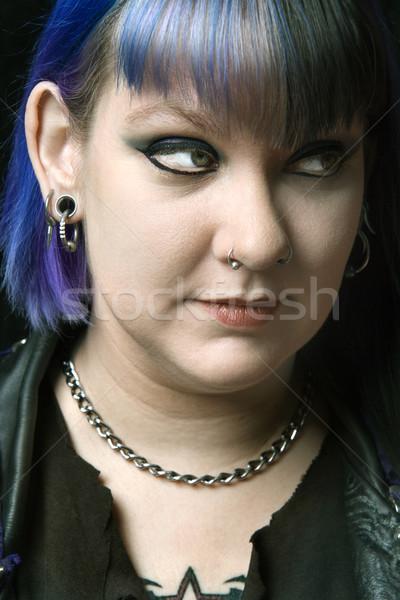 Young alternative woman. Stock photo © iofoto