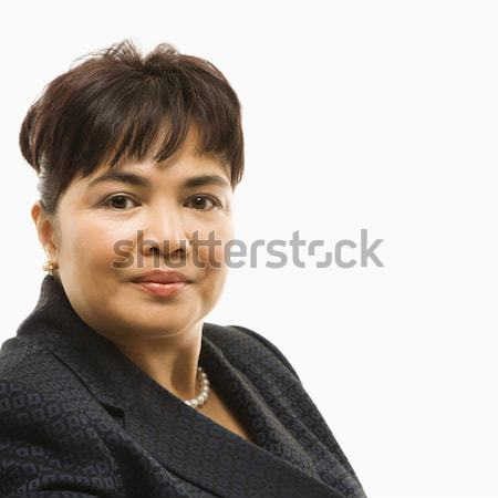 Portrait of businesswoman. Stock photo © iofoto