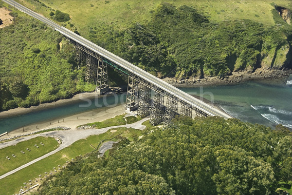 Shoreline Highway bridge. Stock photo © iofoto