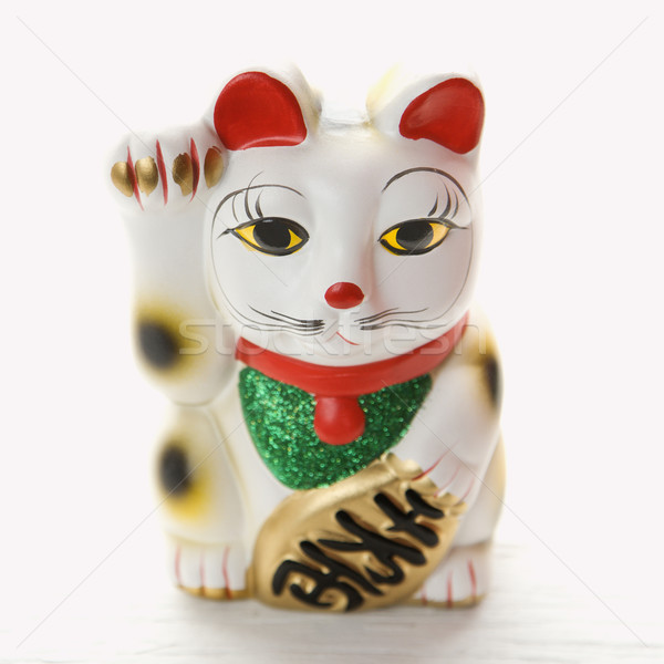 Japanese lucky cat. Stock photo © iofoto