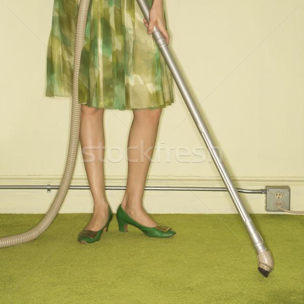 Kadın halı kafkas kadın bacaklar Stok fotoğraf © iofoto