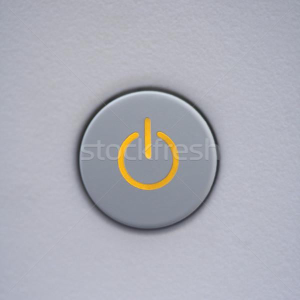 Power button on computer. Stock photo © iofoto