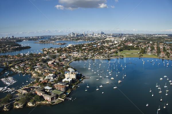 Sydney Australia aerial. Stock photo © iofoto