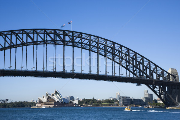 Pont Sydney Australie port vue centre-ville Photo stock © iofoto