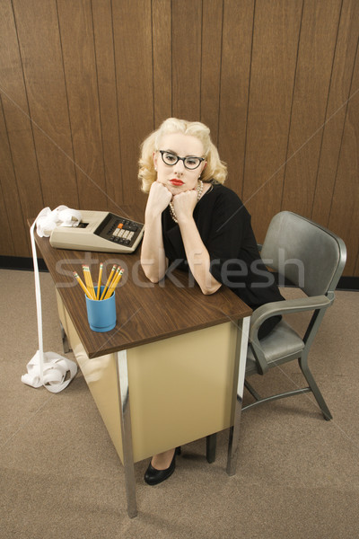 Woman in office. Stock photo © iofoto