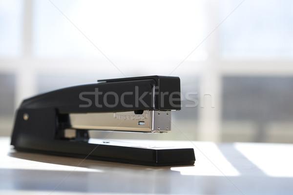 黒 ホッチキス ウィンドウ オフィス 色 水平な ストックフォト © iofoto