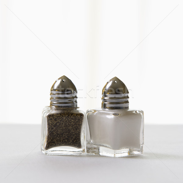Salt and pepper shakers. Stock photo © iofoto